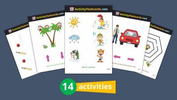 Logical Thinking Flash Cards Nursery
