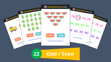 odd even numbers class 1 math kids