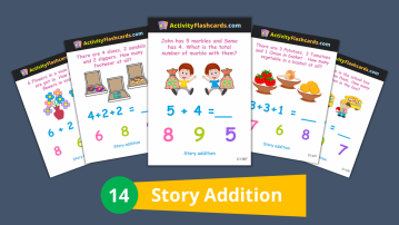story addition math
