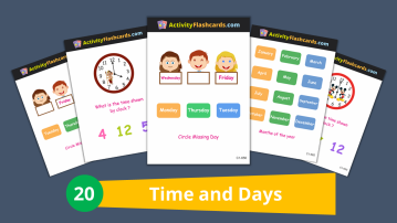 time and days for kids